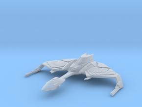 Klingon Norgh Class Bird of Prey Flight Mode in Smooth Fine Detail Plastic