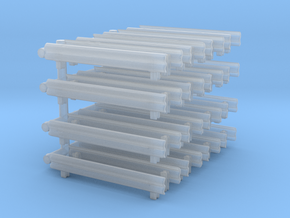 Guard Rail (x32) 1/285 in Smooth Fine Detail Plastic