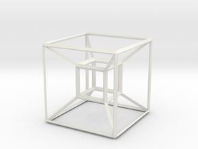 Basic Hypercube in White Strong & Flexible