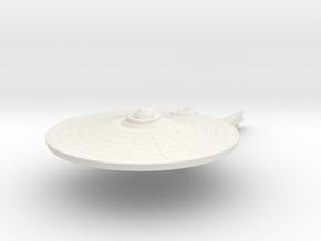 1000 Saladin refit Azrael class in White Natural Versatile Plastic