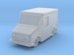 USPS LLV Grumman in Smoothest Fine Detail Plastic: 1:100