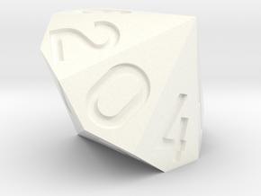 d14 0-6 twice in White Processed Versatile Plastic