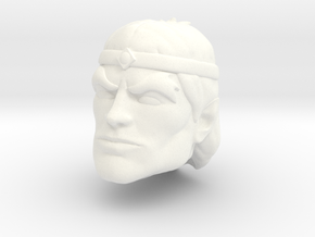 Vokan Head in White Processed Versatile Plastic
