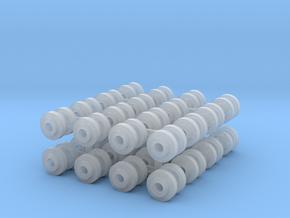 Listowel Lartigue Wheels (N Scale) in Smoothest Fine Detail Plastic