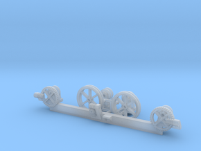 Listowel Lartigue Flying Gate Details (N Scale) in Smooth Fine Detail Plastic