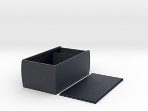 Durable Sliding Lid Deckbox for M:TG, Pokemon, TCG in Black PA12