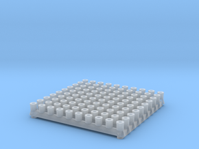 100 bushes in Smooth Fine Detail Plastic