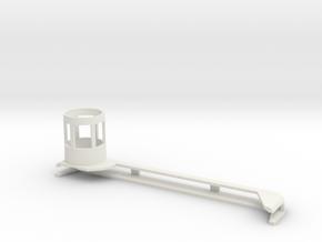 Microscope attachment for 7th generation iPad in White Natural Versatile Plastic