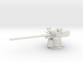 1/48 Uboot 10.5cm/45 Deck Gun in White Natural Versatile Plastic