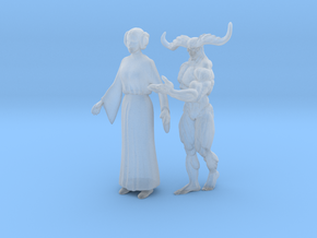 Printle V Couple 1151 - 1/87 - wob in Smooth Fine Detail Plastic