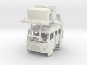 1/72 Rosenbauer Avenger V1 in White Natural Versatile Plastic