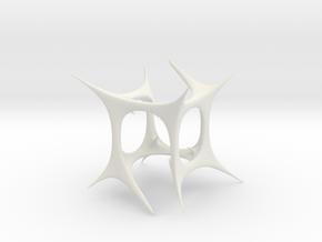 Goth in White Natural Versatile Plastic