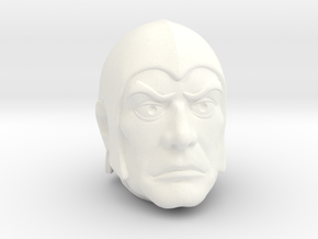 Spyster Head in White Processed Versatile Plastic