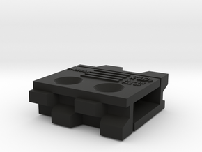 14mm Baseboard Join C7p in Black Natural Versatile Plastic