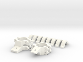 Skid-Clamps_B3 for AS350 B3 in White Processed Versatile Plastic