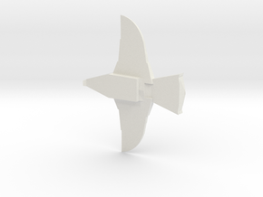 hawk ship buck rogers in White Natural Versatile Plastic