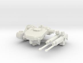 1:144 Tekkadan Mobile Worker Gundam: IBO in White Natural Versatile Plastic