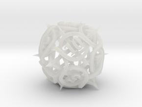 Thorn Die12 in Smooth Fine Detail Plastic