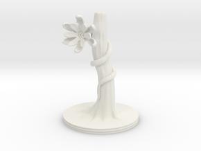 Blossom Crawler in White Natural Versatile Plastic