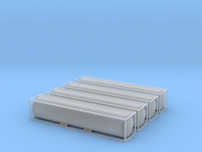 TankTainer 40foot - Nscale in Smooth Fine Detail Plastic