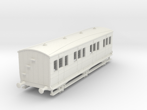 o-87-lyr-6-wheel-d6-32ft-all-1st-coach in White Natural Versatile Plastic