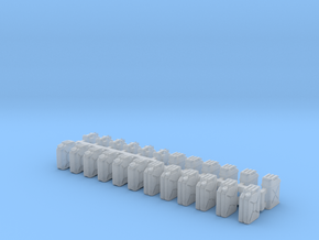 Jerrycans 1/64 scale in Smooth Fine Detail Plastic