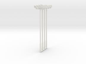 25ft Flood Light (x4) 1/87 in White Natural Versatile Plastic