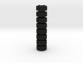 Transformer G1 autobot replacement tires in Black Natural Versatile Plastic