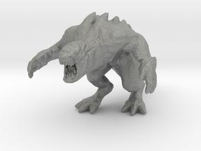 Hekaton 54mm miniature kaiju monster fantasy rpg in Gray PA12