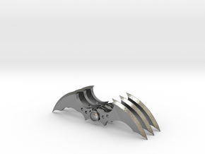 Arkham Asylum Batarang (3 pieces bundle) in Natural Silver