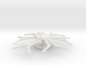 7000 Scale Monster Space Tarantula MGL in White Natural Versatile Plastic