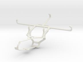 Controller mount for Steam & Xiaomi Redmi 9 Prime  in White Natural Versatile Plastic