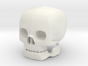 skull solid in White Natural Versatile Plastic