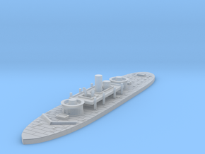 1/1000 USS Miantonomoh in Smooth Fine Detail Plastic