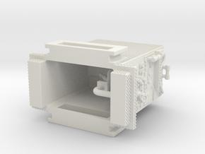 1/87 Christiana DE Seagrave SQUAD Pump in White Natural Versatile Plastic
