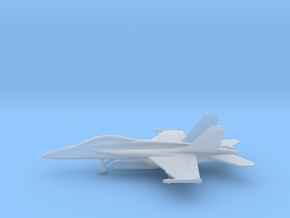 Boeing F/A-18F Super Hornet in Smooth Fine Detail Plastic: 6mm