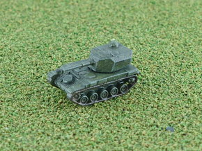 French AMX-105 B Mk.62 SPG 1/285 6mm in Smooth Fine Detail Plastic
