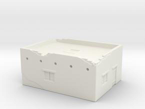 Desert House 1/285 in White Natural Versatile Plastic