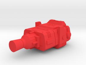 Starcom - Skyroller -  Roofgun in Red Processed Versatile Plastic