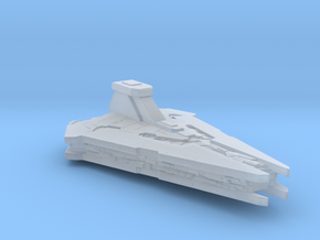 "Nar Shadaa Star Destroyer, 3"" in Smooth Fine Detail Plastic"
