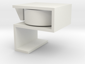 Drawer Safety for little curious fingers in White Natural Versatile Plastic