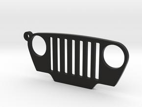 "Jeep Wrangler TJ (1997-2006) REPLICA - dim. 3.7"" in Black Natural Versatile Plastic"