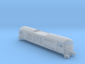 British Rail Class 71 DC Loco in Smooth Fine Detail Plastic