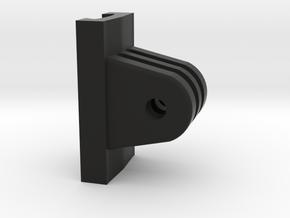 10mm Dovetail GoPro Mount/Adapter (Low Profile) in Black Natural Versatile Plastic