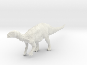 Serenity - 1:35 Tenontosaurus (Solid) in White Natural Versatile Plastic
