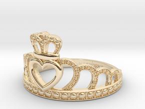 Princess Tiara Ring in 14k Gold Plated Brass: 7 / 54