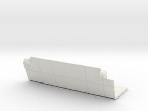 Starcom - Sixshooter - Cargo Space Door (left) in White Natural Versatile Plastic