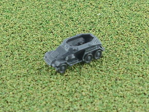 SdKfz 247A Set of 5 1/285 6mm in Smooth Fine Detail Plastic