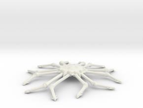Omni Scale Monster Space Tarantula MGL in White Natural Versatile Plastic