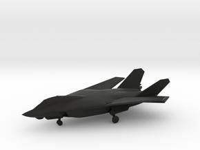 Boeing/Lockheed AFX / AFX-653 (w/Landing Gear) in Black Natural Versatile Plastic: 1:200